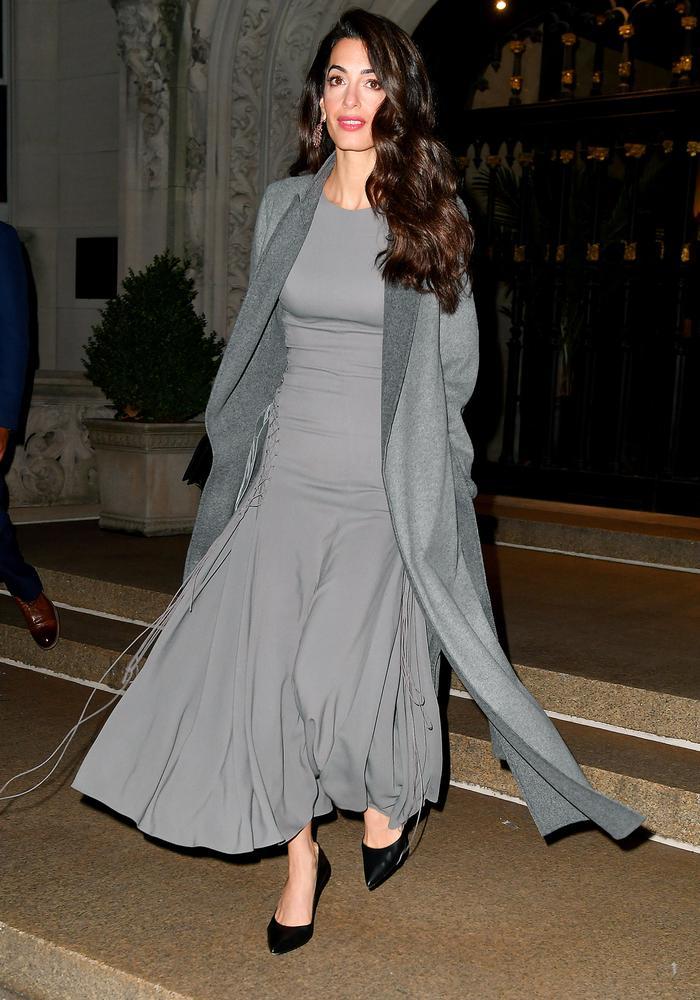 Amal Clooney Dress and Coat