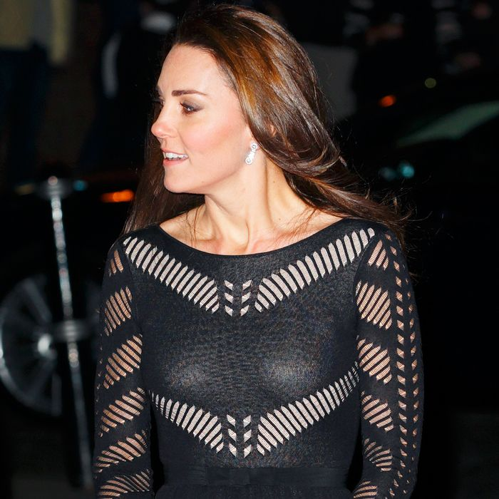 8 Times Kate Middleton Dared to Wear a Sheer Dress