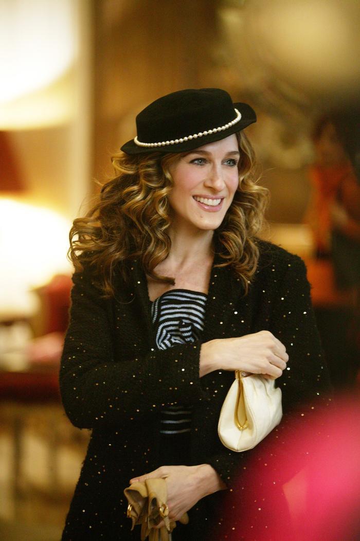 Carrie Bradshaw's Paris wardrobe