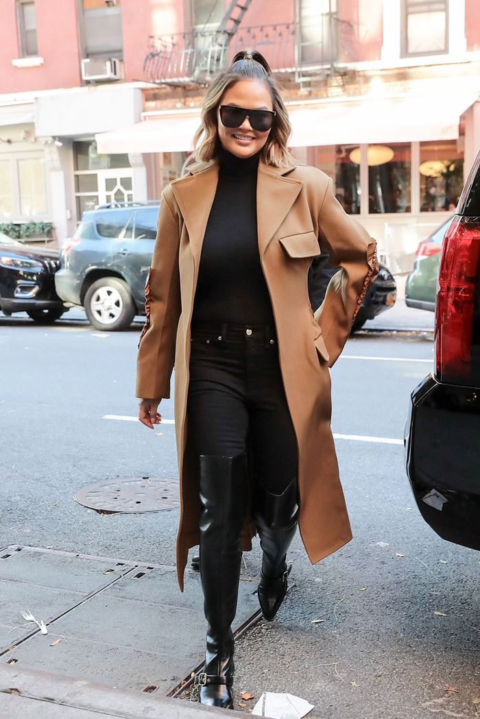 Celebrity Outfits With Duster Coats