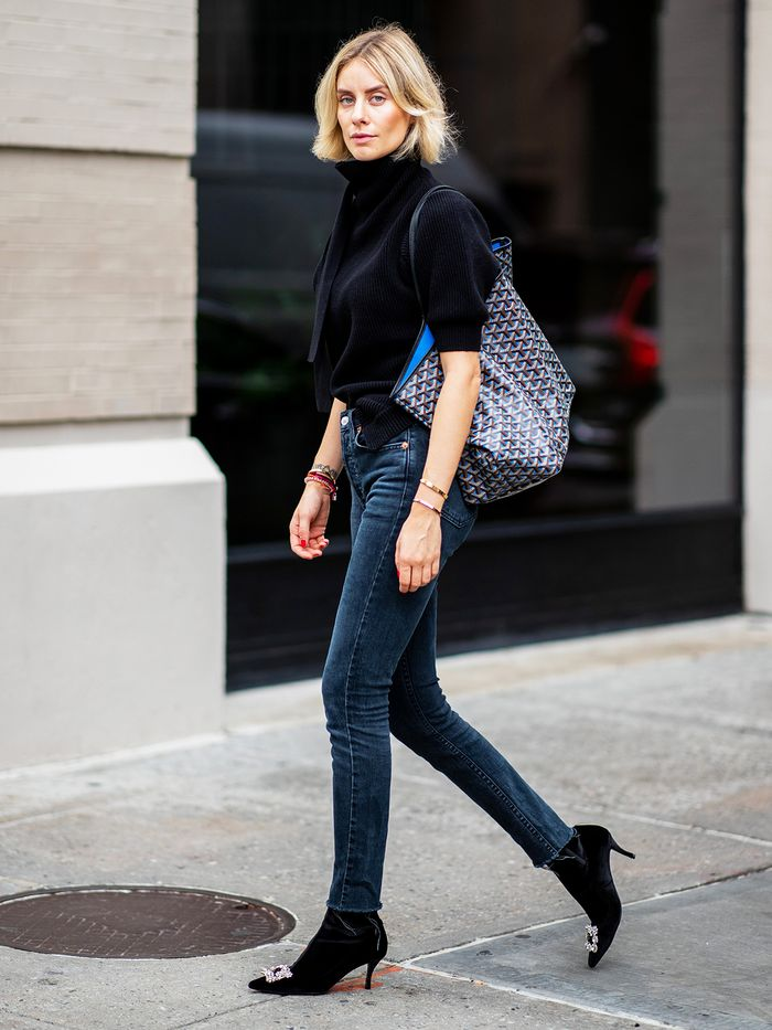 Ankle Boots and Skinny Jeans Street Style