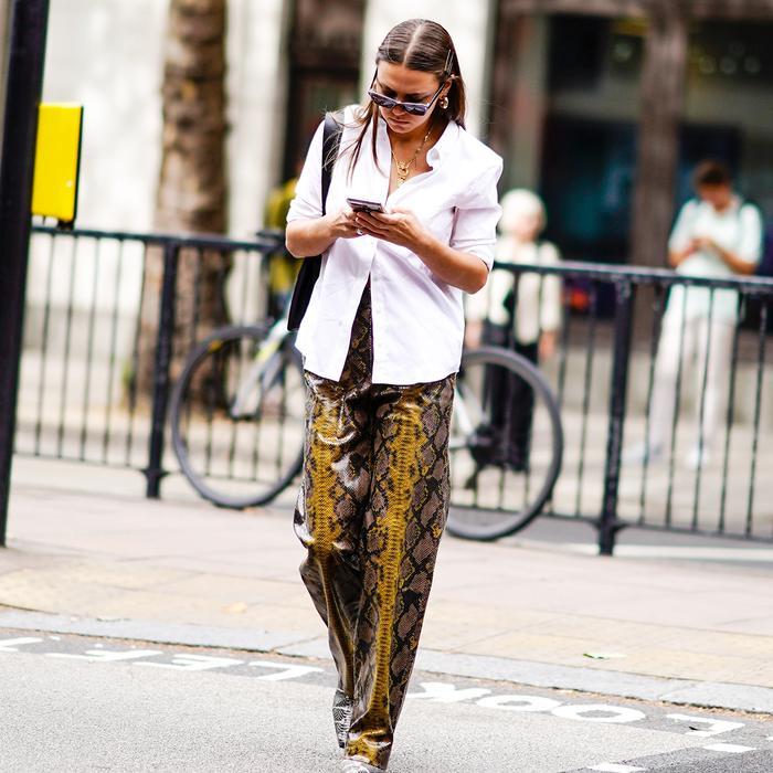 Snake Pants Street Style