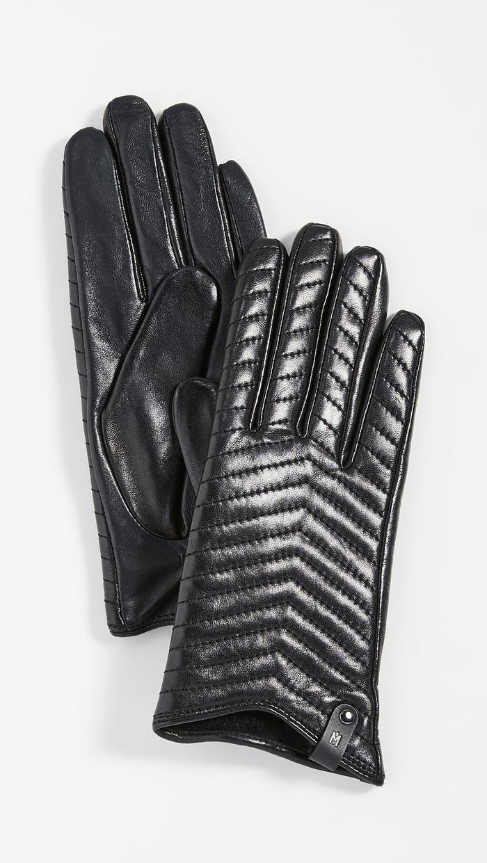 Sheepskin leather winter gloves brand new never worn!