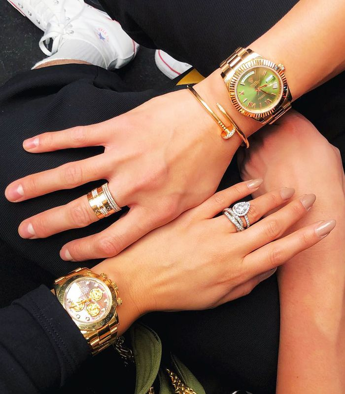 Most Expensive Watches for Women: Blogger Peony Lim and a pal showcase their Rolex wrist-candy.