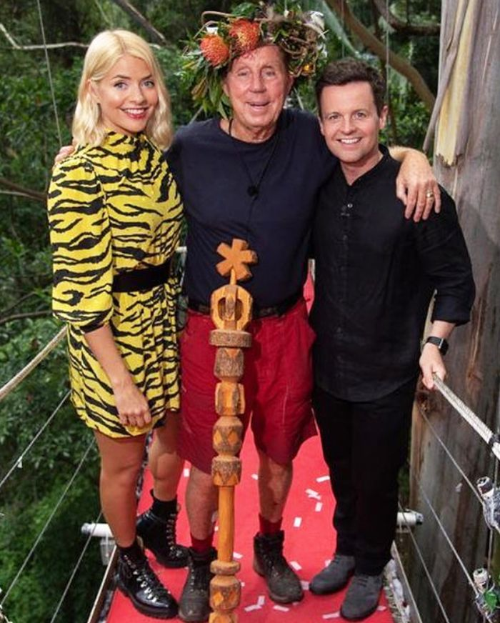 Holly Willoughby I'm a celebrity outfits: zadig and voltaire