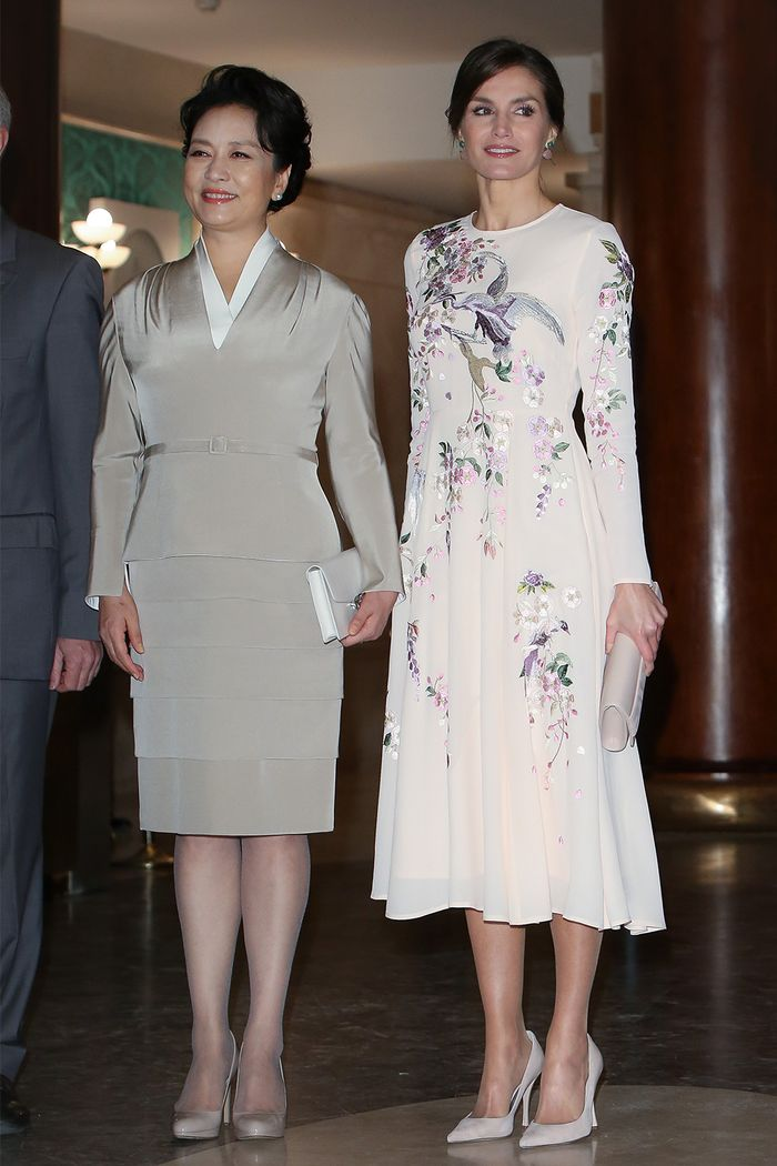 Queen Letizia of Spain wore a $119 ASOS dress