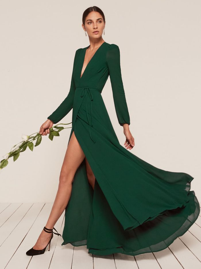 هدير اقتراض لفة long sleeve winter wedding guest dresses