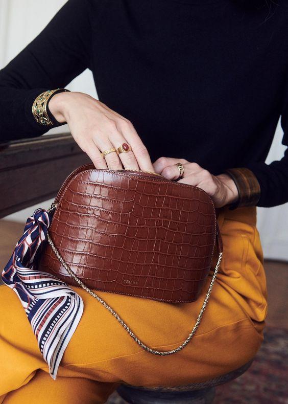 Vintage French Script Womens Coin Bag Paris Small Wallets Mini Zipper Purse