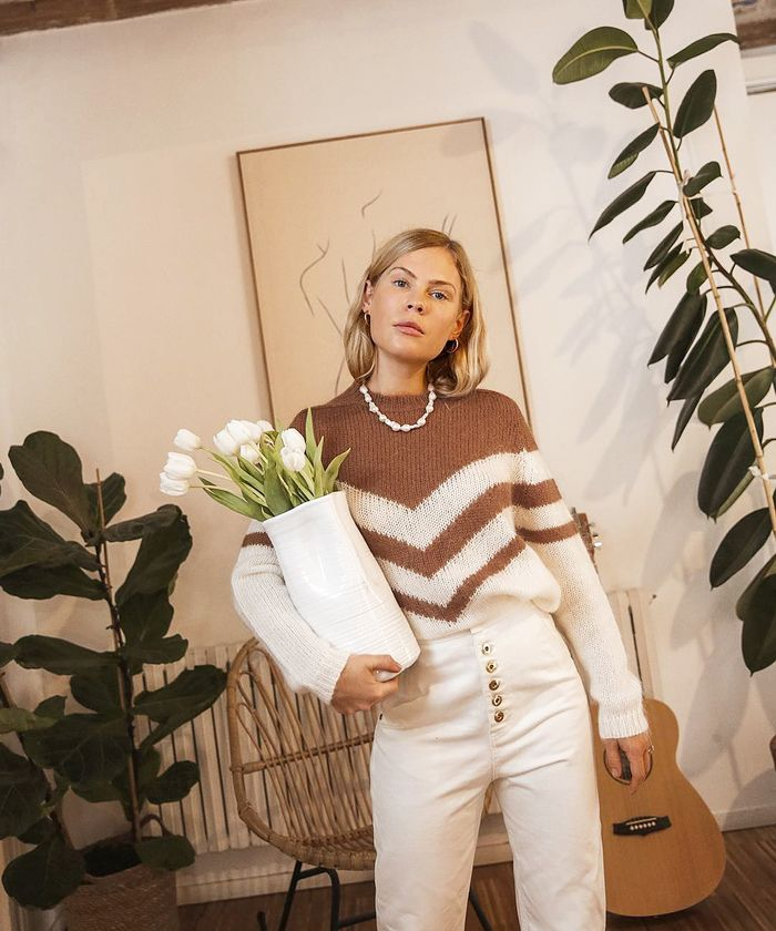 Sézane Jumper: Influencers are going crazy for this gorgeous knit.