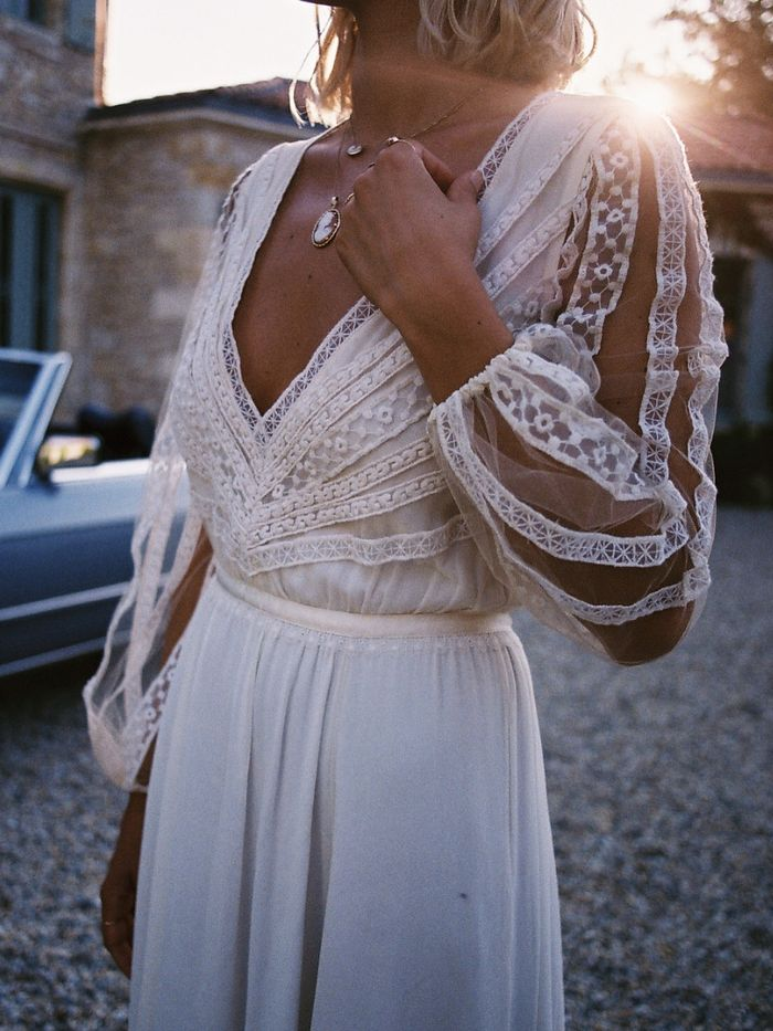 15 Long Sleeve Winter Wedding Dresses Brides To Wear Who What Wear