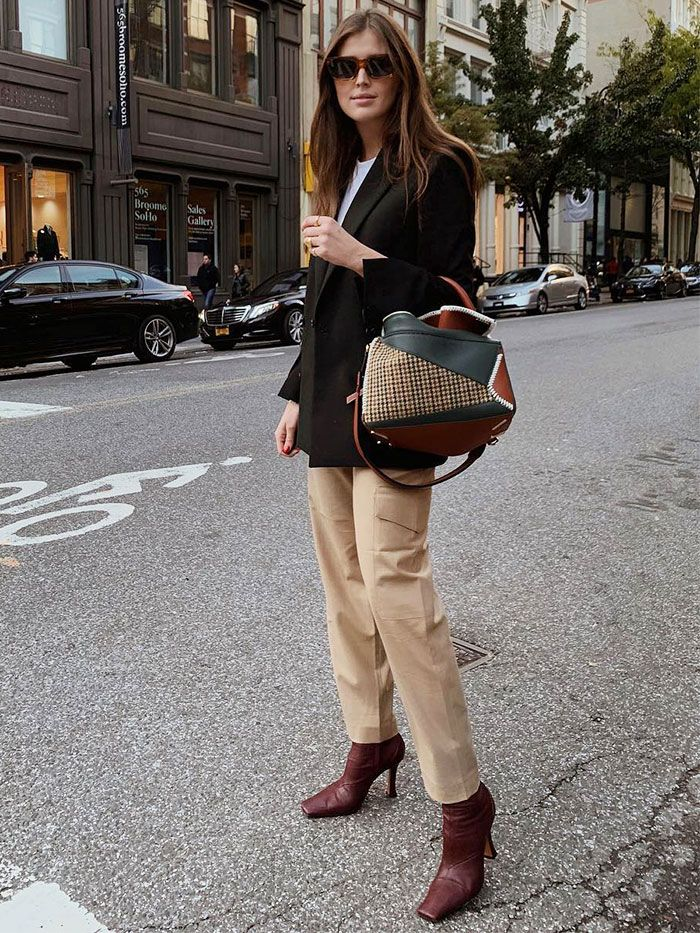 Square-Toe Ankle Boot Trend