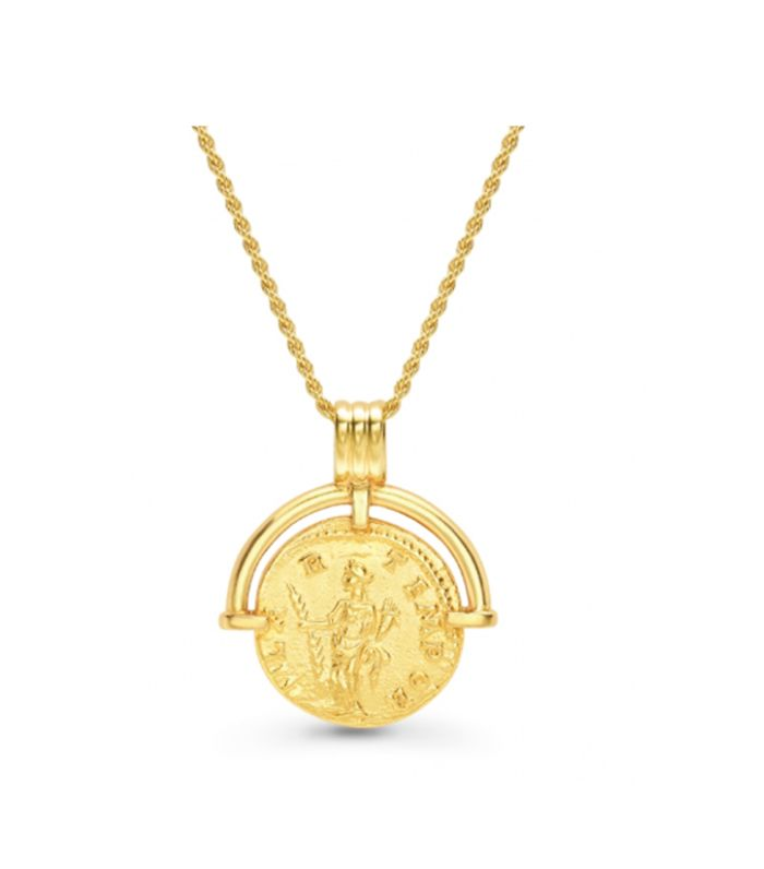 lucy williams coin necklace