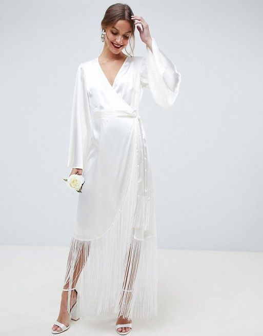 20 Simple Winter Wedding Dresses For The Unfussy Bride Who What Wear
