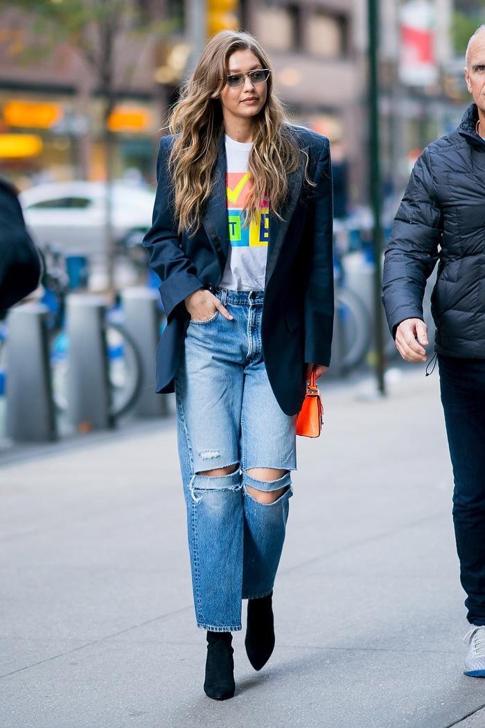 Best Blazers for Winter: Gigi Hadid