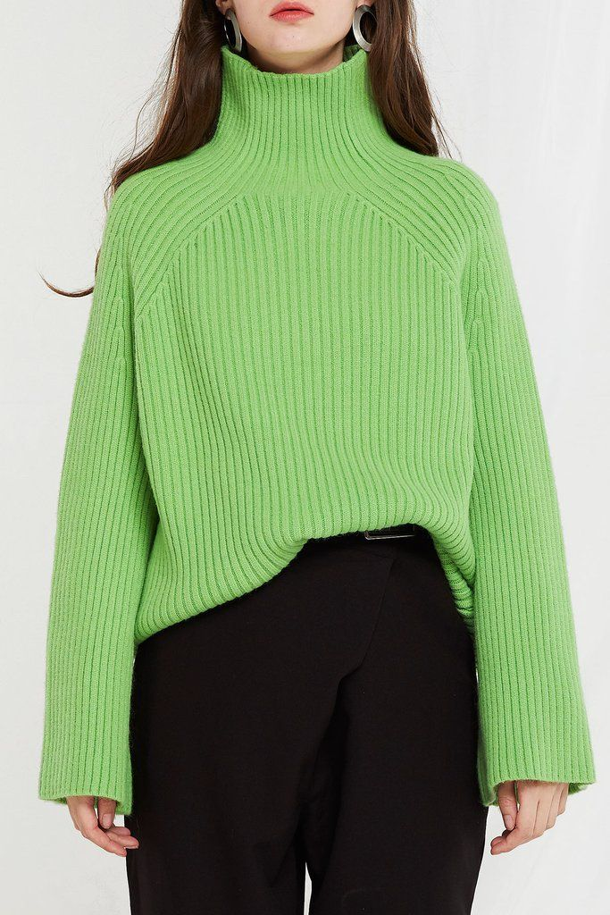 Storets Alice Ribbed Turtleneck Sweater