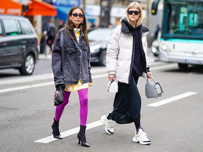 The Sneakers Fashion People Wear With Leggings