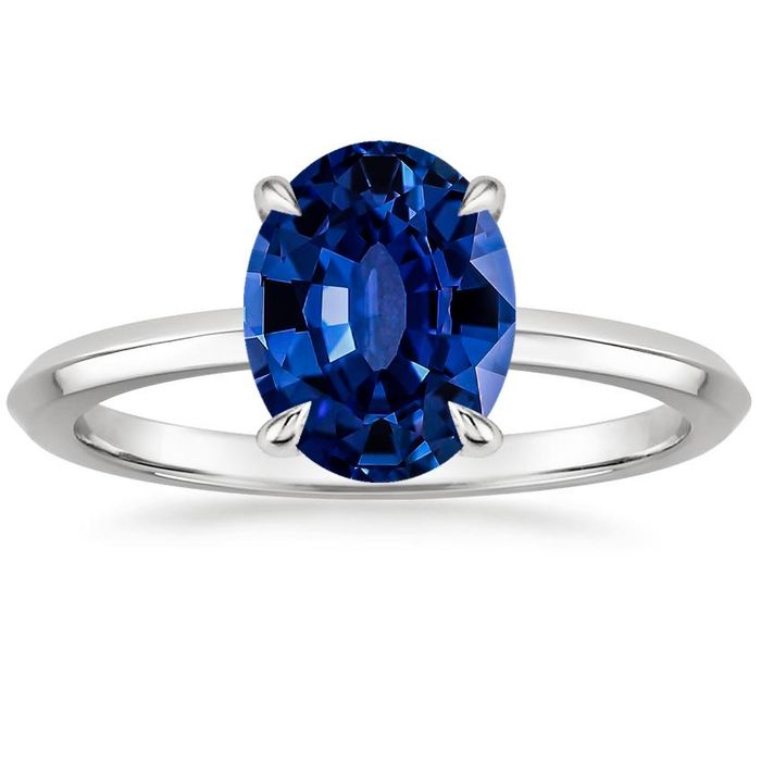 26 Sapphire Engagement Rings That Are Dazzlingly Beautiful Who What Wear