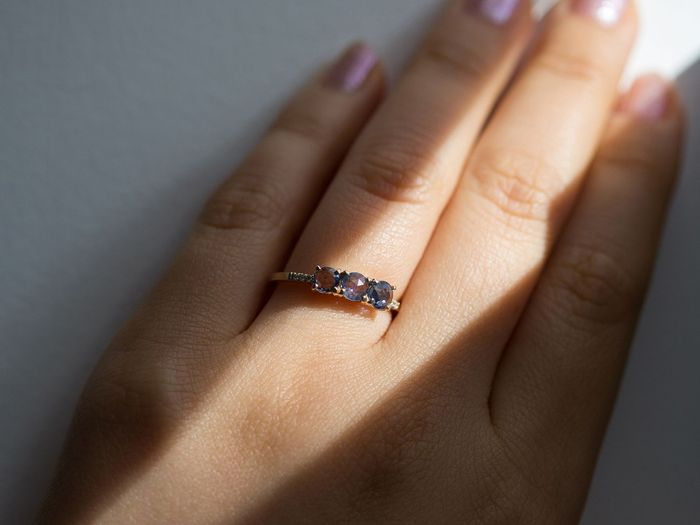26 sapphire engagement rings that are dazzlingly beautiful who what wear 26 sapphire engagement rings that are