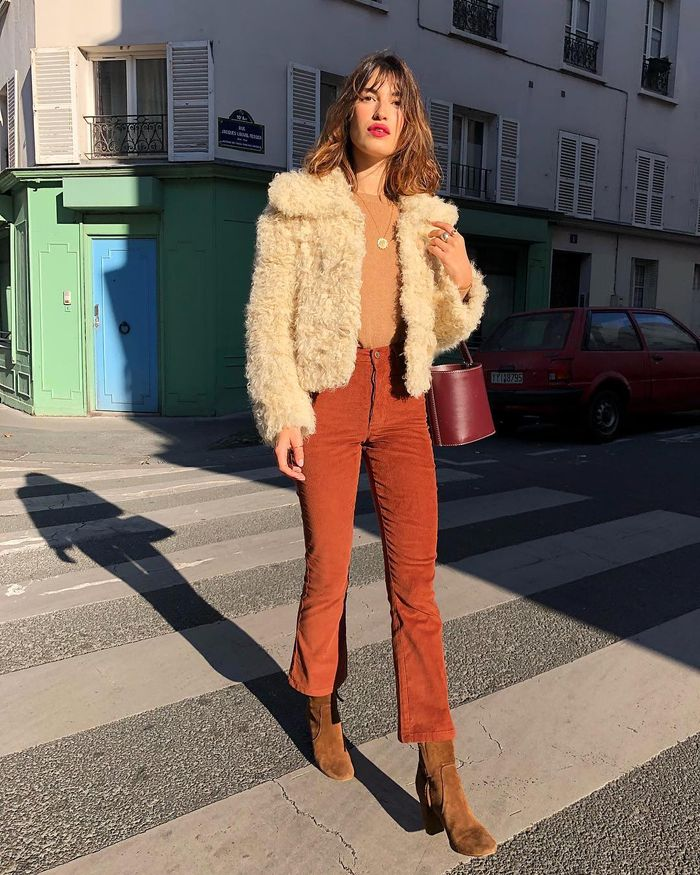 French-girl winter style: Jeanne Damas
