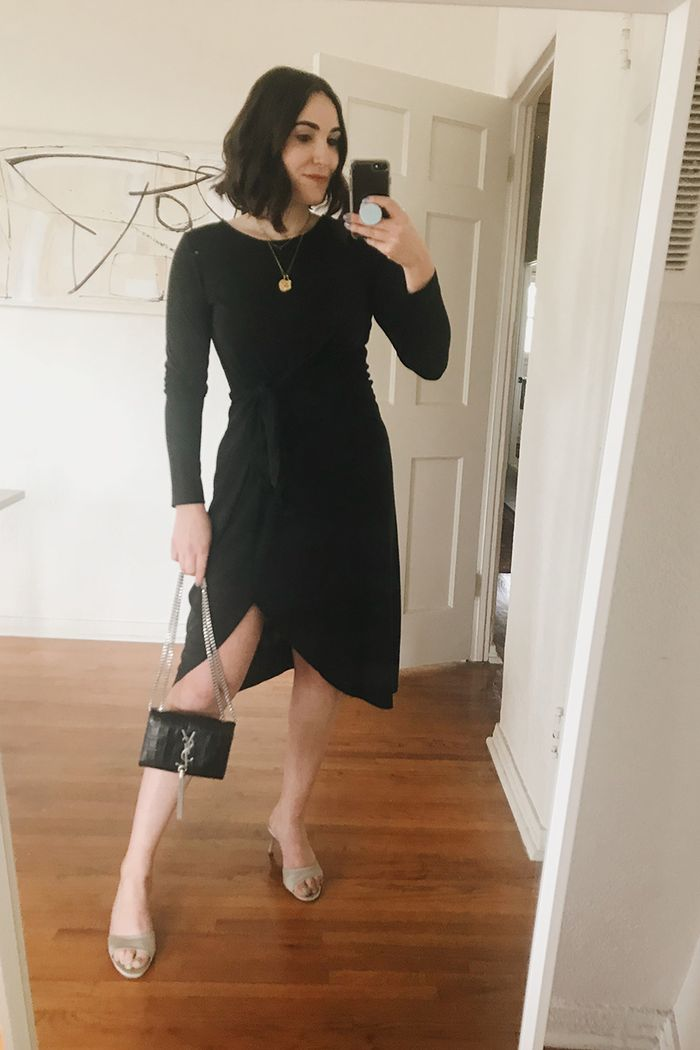 the affordable dress I'm wearing to 5 events in a row