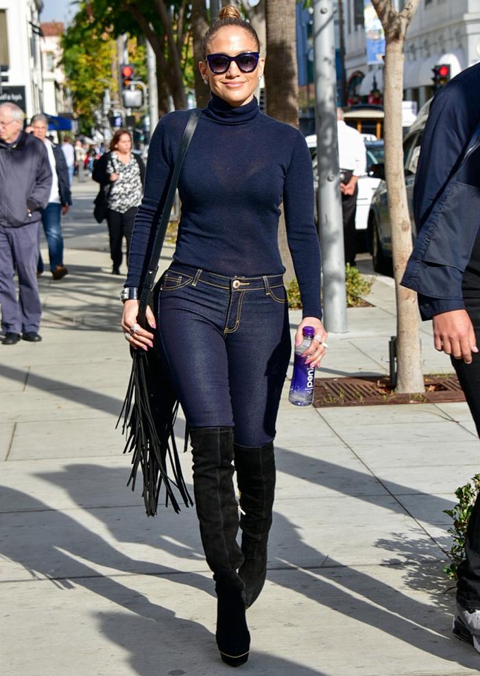 Shop Jennifer Lopez S Perfect Skinny Jeans Who What Wear