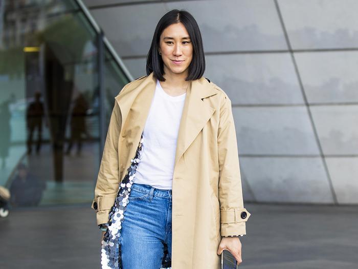Eva Chen jeans