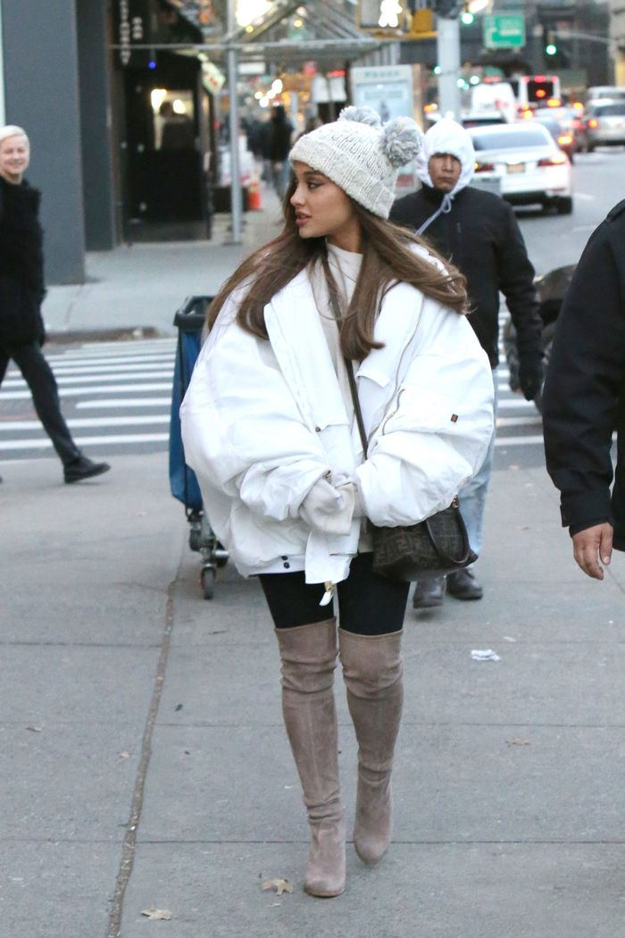 The 9 Best Ariana Grande Outfits Of The Year Who What Wear