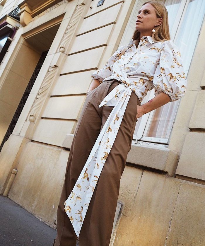 Tops and Trousers Outfit Ideas: