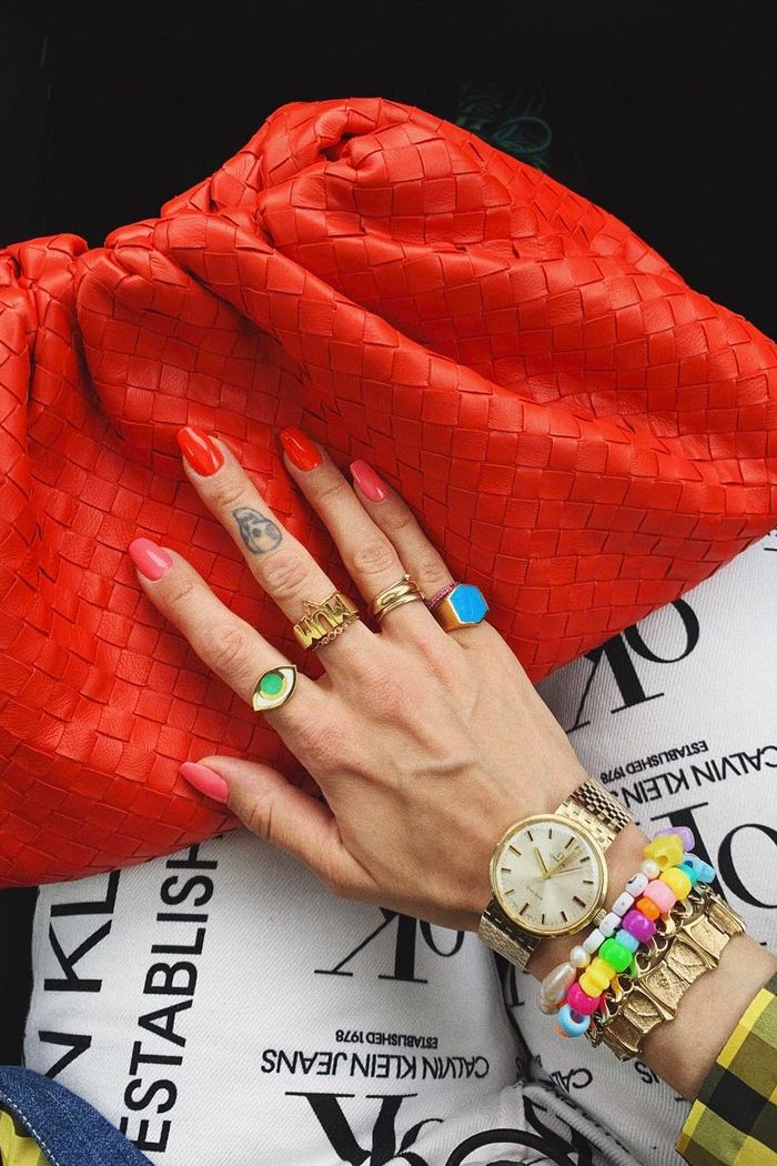 Jewellery trends 2019: chunky rings, colourful plastic beads and pearls