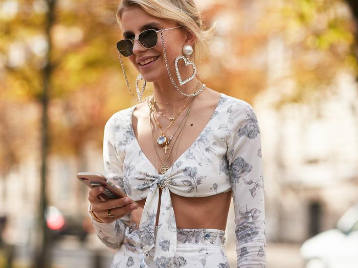 Heart Earrings Street Style