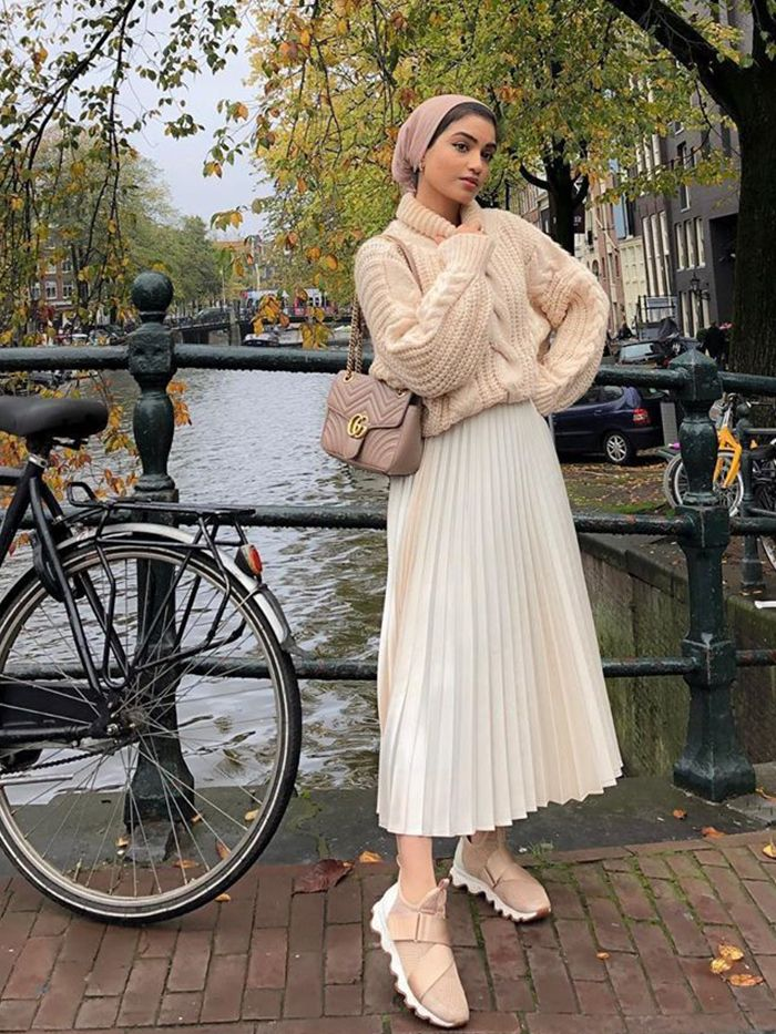 Best Zara items UK 2019:  Pleated Skirt