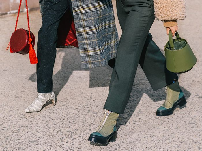 NYC winter shoe trends