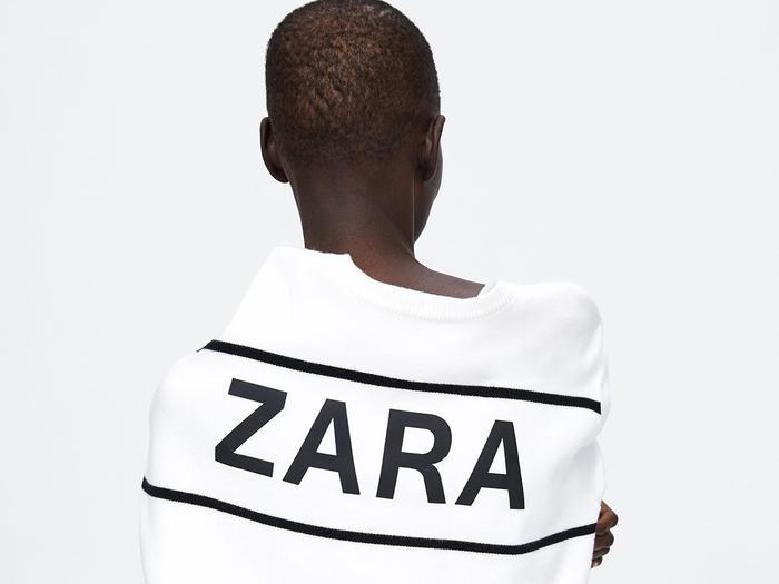 Zara model