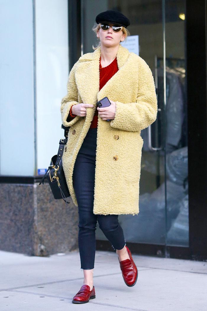 Jennifer Lawrence skinny jeans