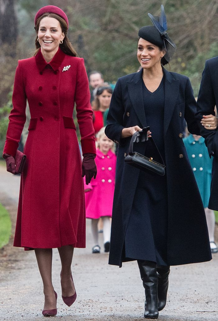 Meghan Markle Wears Victoria Beckham for Christmas Day ...
