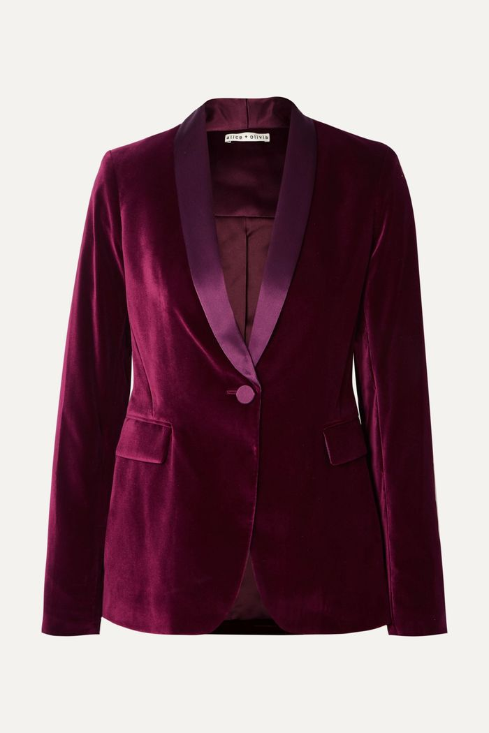 The 25 Best Velvet Jackets And Blazers For Women Who What Wear