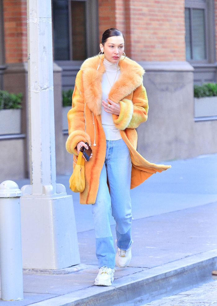 Bella Hadid winter outfit