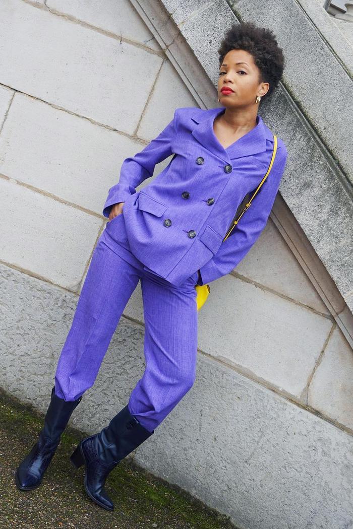 Spring colours 2019: purple