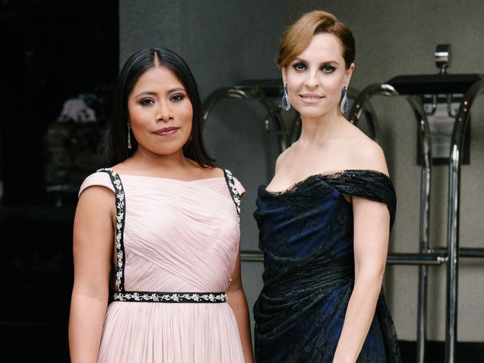 Exclusive: Getting Ready With Roma Stars Yalitza Aparicio and Marina de Tavira