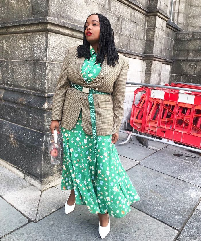 How To Not Look Boring: Ada Oguntodu belts her blazer