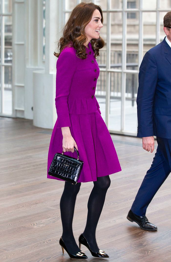 Kate Middleton magenta suit