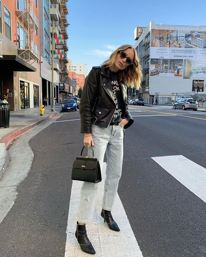 10 Winter Outfits With Black Ankle Boots Who What Wear