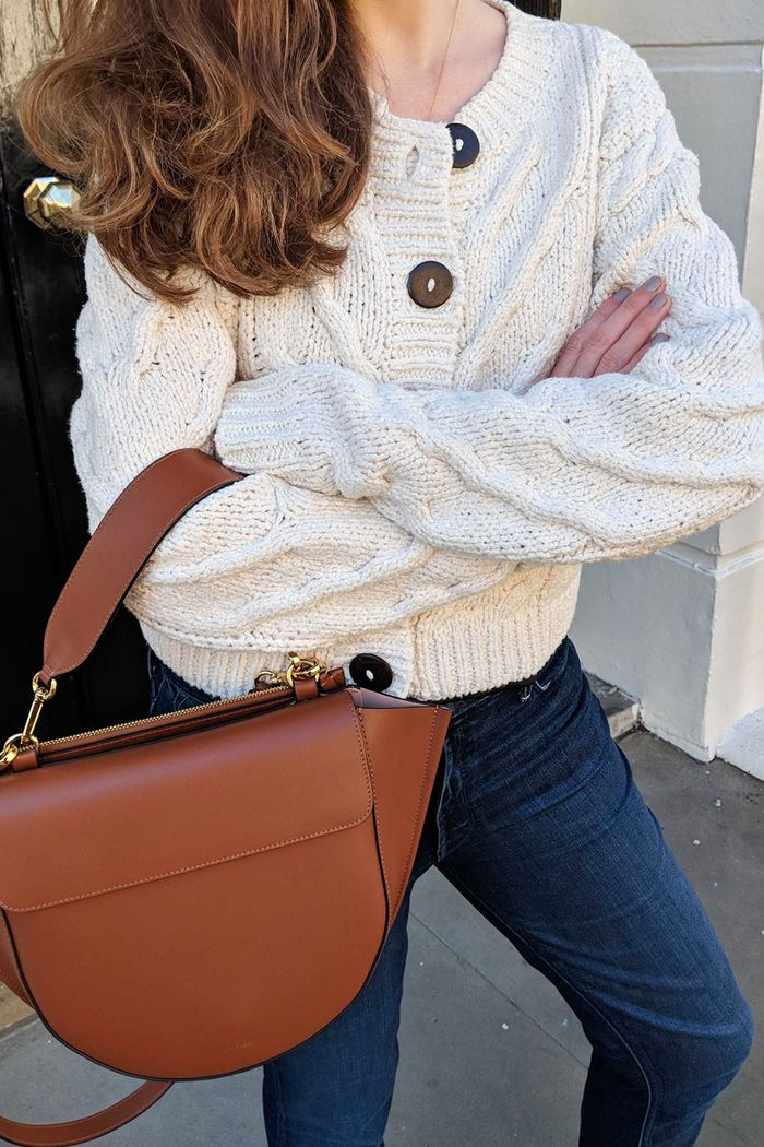 Best Free People Buys: Emma Spedding Wearing the Bonfire Cardi