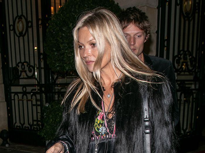 Kate Moss Wore a Very Boho Jumpsuit to Her 45th Birthday in Paris
