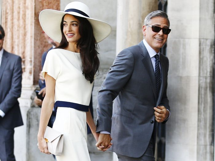 Amal Clooney's Best Pant Outfits