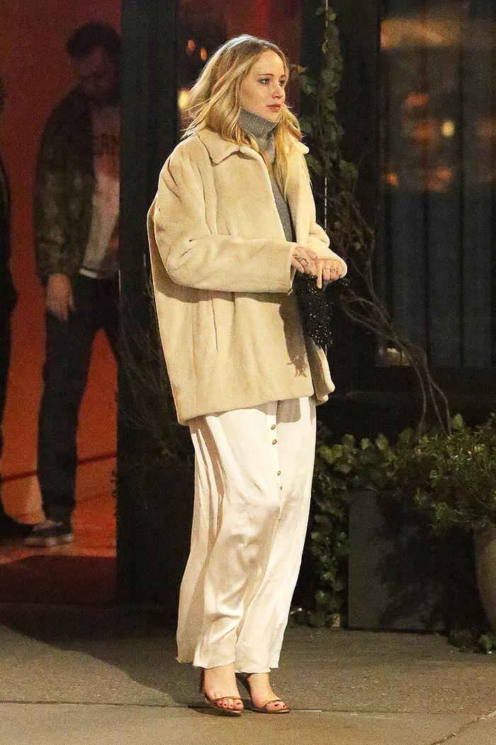 Jennifer Lawrence date outfit