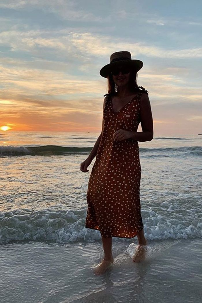 Best Summer Dress 2019: Darja Barannik wearing Polka Dot Love Child Dress