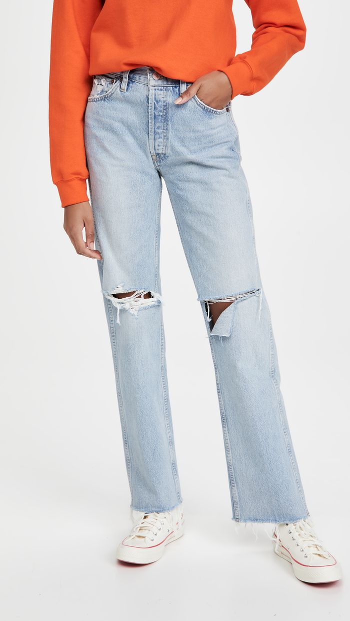 What goes with light jeans
