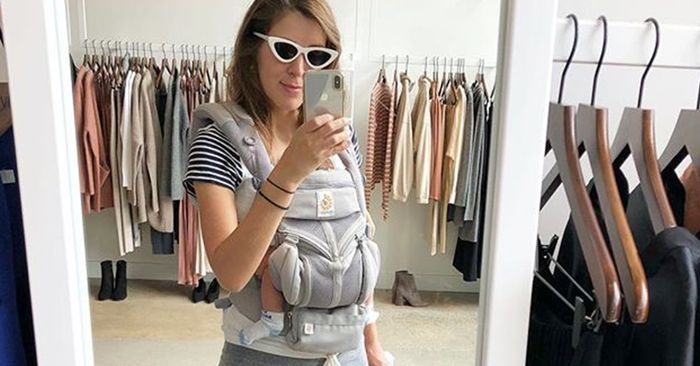 The Best Postpartum Clothes I Wore On Maternity Leave Who What Wear