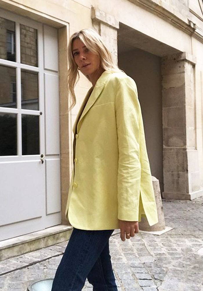 Cult jackets 2019: linen blazer